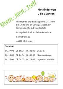 Eltern-Kind-Gruppe @ EFG Mettmann
